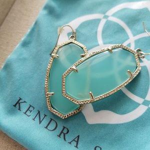 Kendra Scott Danielle earrings in Chalcedony